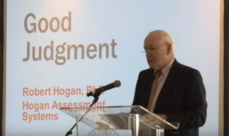 Good Judgement and Decision Making – Dr Robert Hogan